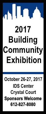 2017 Building Community Exhibition - October 26-27th 2017 IDS Center Crystal Court